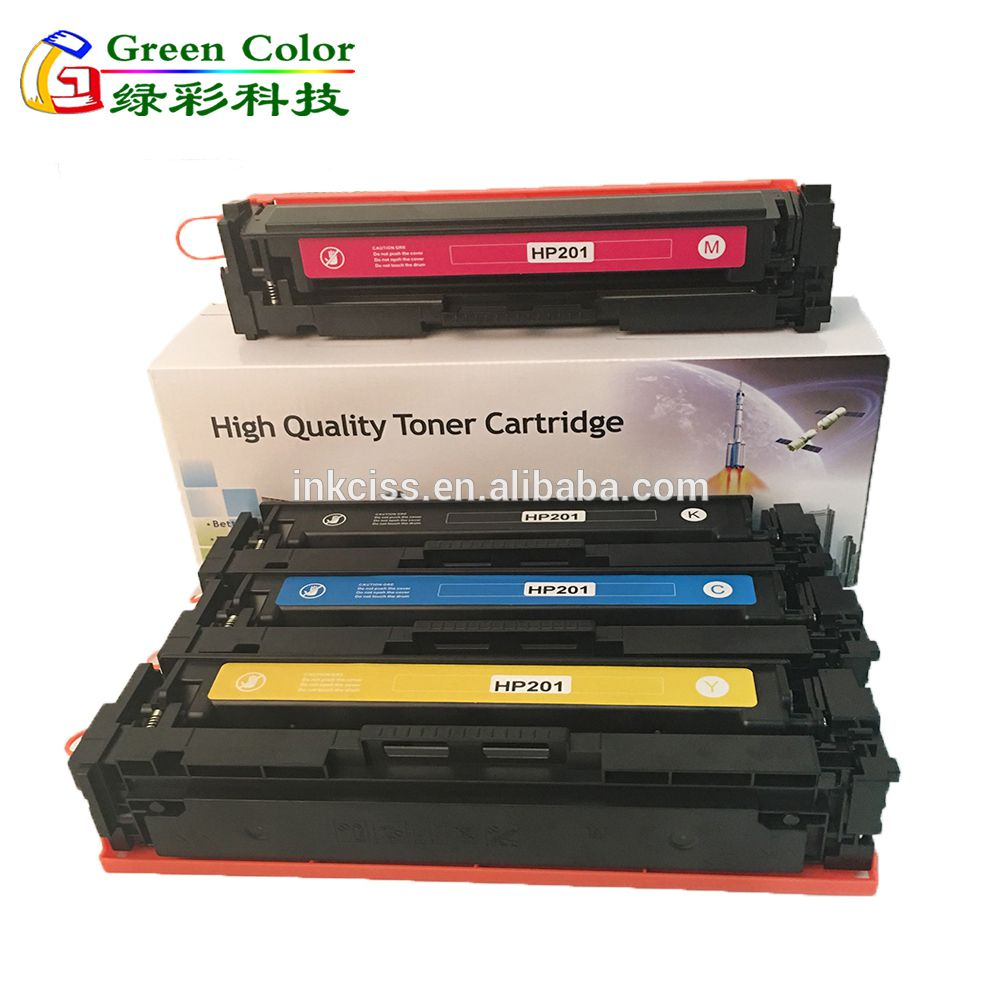 201 201A laser toner cartridge for HP M252 277 printer