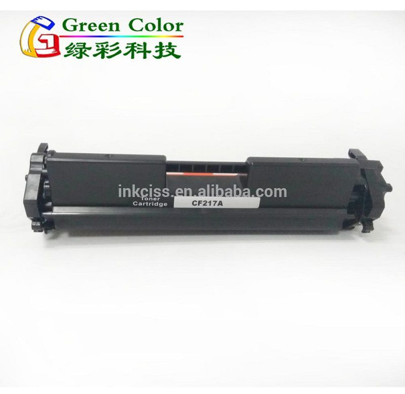 China factory supply CF217A 17A toner cartridge with chip